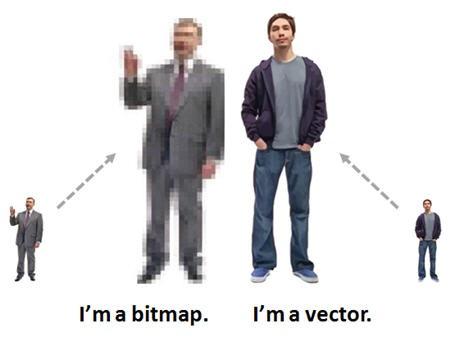 Graphics For Bitmap Vs Vector Graphics Graphics   www.graphicsbuzz.com